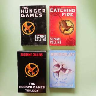 Hunger Games Trilogy (with box)