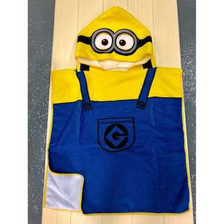 Kids Hooded towel (No More Minions)