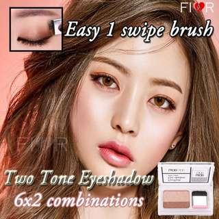 🚚 Two Tone Eyeshadows Instant Easy One Swipe