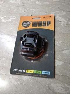 Vented head strap mount for Gopro action camera