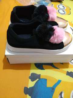 Calliope selly black gold pomps shoes