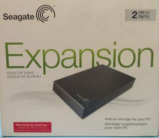 Original Seagate 2TB External Hard Disk