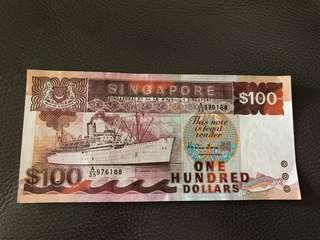 RARE 100 Dollar Ship Series (can nego!)
