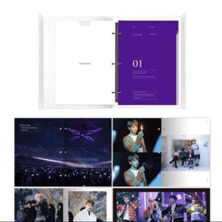 WTS BTS MEMORIES OF 2017 PHOTOBOOK AND RING BINDER