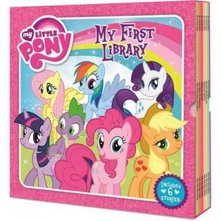 My first library my little pony