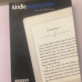 Kindle paperwhite 7th Generation 99%new