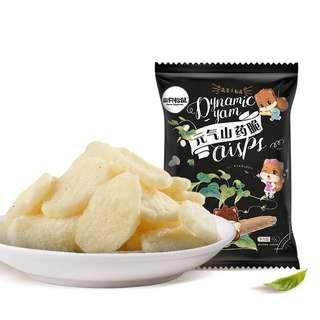 Healthy snacks 元氣山葯脆 60g x 2 = $75