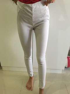 Bershka Cream Jeans