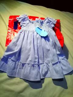 dress 3-6 m(crib couture)