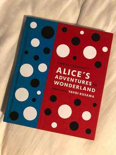 Alice's Adventures in Wonderland with artwork by Yayoi Kusama