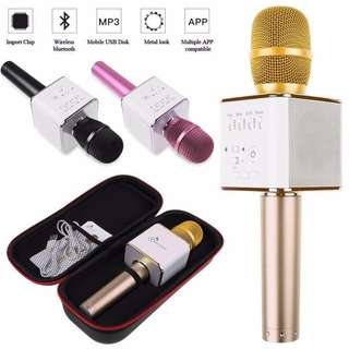 Brand New Q9 Bluetooth Karaoke KTV Microphone