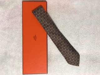 Hermes 100%silk Tie