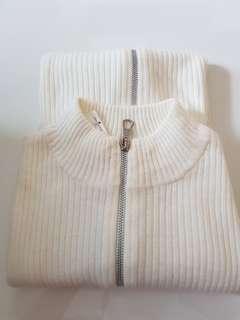 💝Winter long sleeve cream top(strechable)