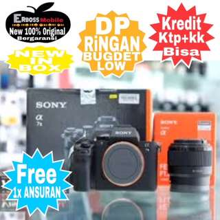 Sony Alpha A7+FE 50mm New Resmi Cash/kredit Ditoko Dp2jt Call/wa;081905288895