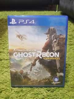 PS4 Games Tom Clancy's Ghost Recon Wildlands