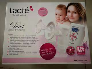 Lacte Duet Breastpump