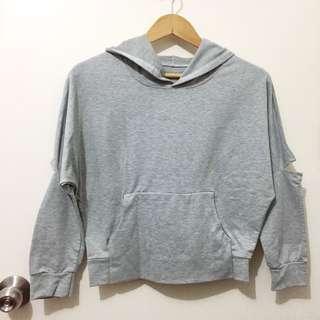 (New) hip gray hoodie