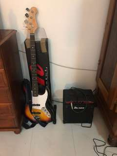 Bass with amp
