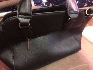 🚚 日本代購時尚黑色手提包