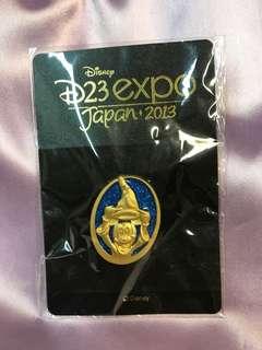 日本迪士尼徽章米奇D23 expo