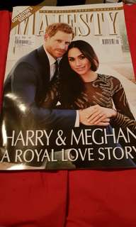 Majesty Magazine. Brand new