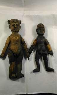 舊民國製造木偶玩具