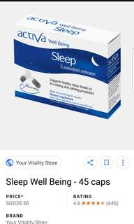 (FREE NM!) Sleeping Pills @ $15 (Cheapest in Carousell!)