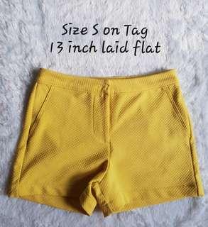 Hi waist shorts kamiseta