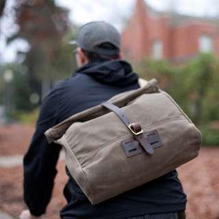 Archival® Rolltop Messenger Bag