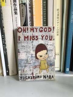 Yoshitomo Nara Set of Postcards I Miss you