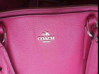 #July100 Coach tote bag
