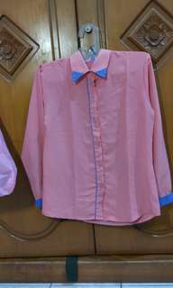 Kemeja dusty pink #maudecay