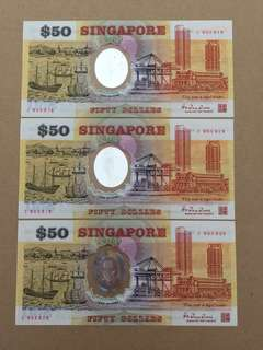 SG $50 Note