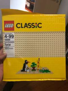 LEGO Sand Baseplate (sealed) save $5