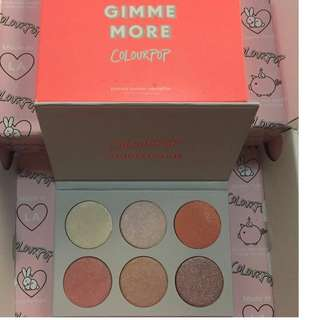 Colourpop Gimme More! Highlighter Palette