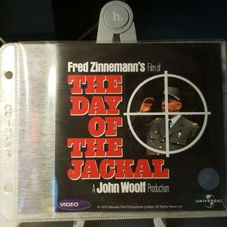 VCD - THE DAY OF THE JACKAL (1973) crime thriller drama assassination NOT bruce willis