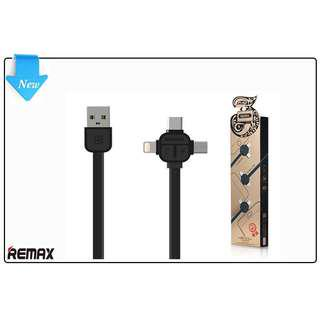 Remax 3 in 1 Micro USB Cable Data Cable Fast Charging