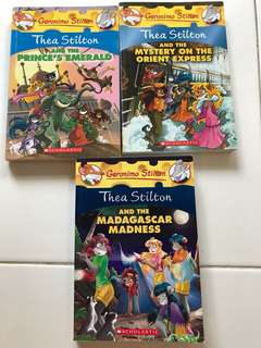 New Geronimo Stilton/ Thea Stilton