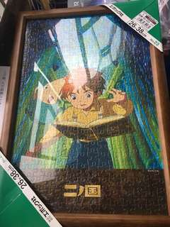 木制 puzzle 框架 made in Japan 26x38cm
