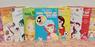 9pcs Mates, Dates, and... Book Series by Cathy Hopkins