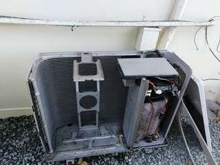 Air con cleaning and repair