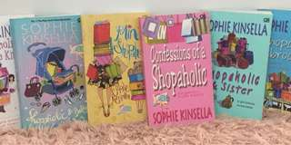 6pcs Shopaholic Book Series by Sophie Kinsella