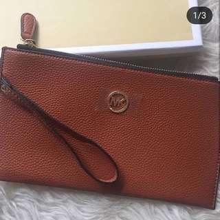 Michael Kors Brown Wrislet Wallet