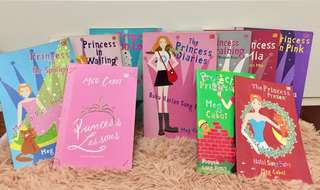 10pcs The Princess Diaries Book Series by Meg Cabot