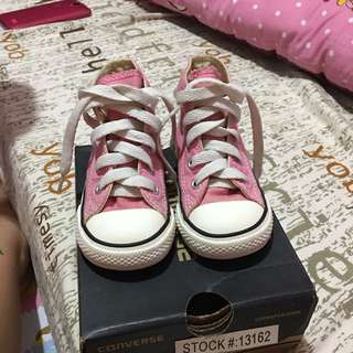 Authentic converse midcut for baby