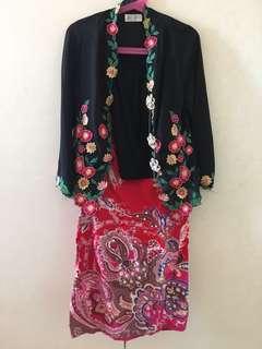 Kebaya, baju kurung and jubah