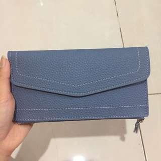 Dompet Envelope Wanita Biru