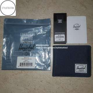 ✧AUTHENTIC✧FREE POSTAGE✧ Herschel Roy Coin Wallet (Navy)✧