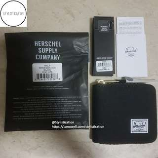 ✧AUTHENTIC✧FREE POSTAGE✧ Herschel Walt Wallet (Black)