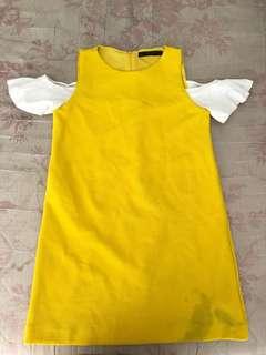 Zara Yello Dress